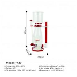 AquaBee COVE I-120 Protein Skimmer