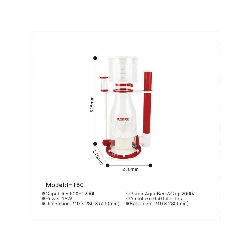 AquaBee COVE I-160 Protein Skimmer