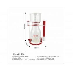 AquaBee COVE I-250 Protein Skimmer